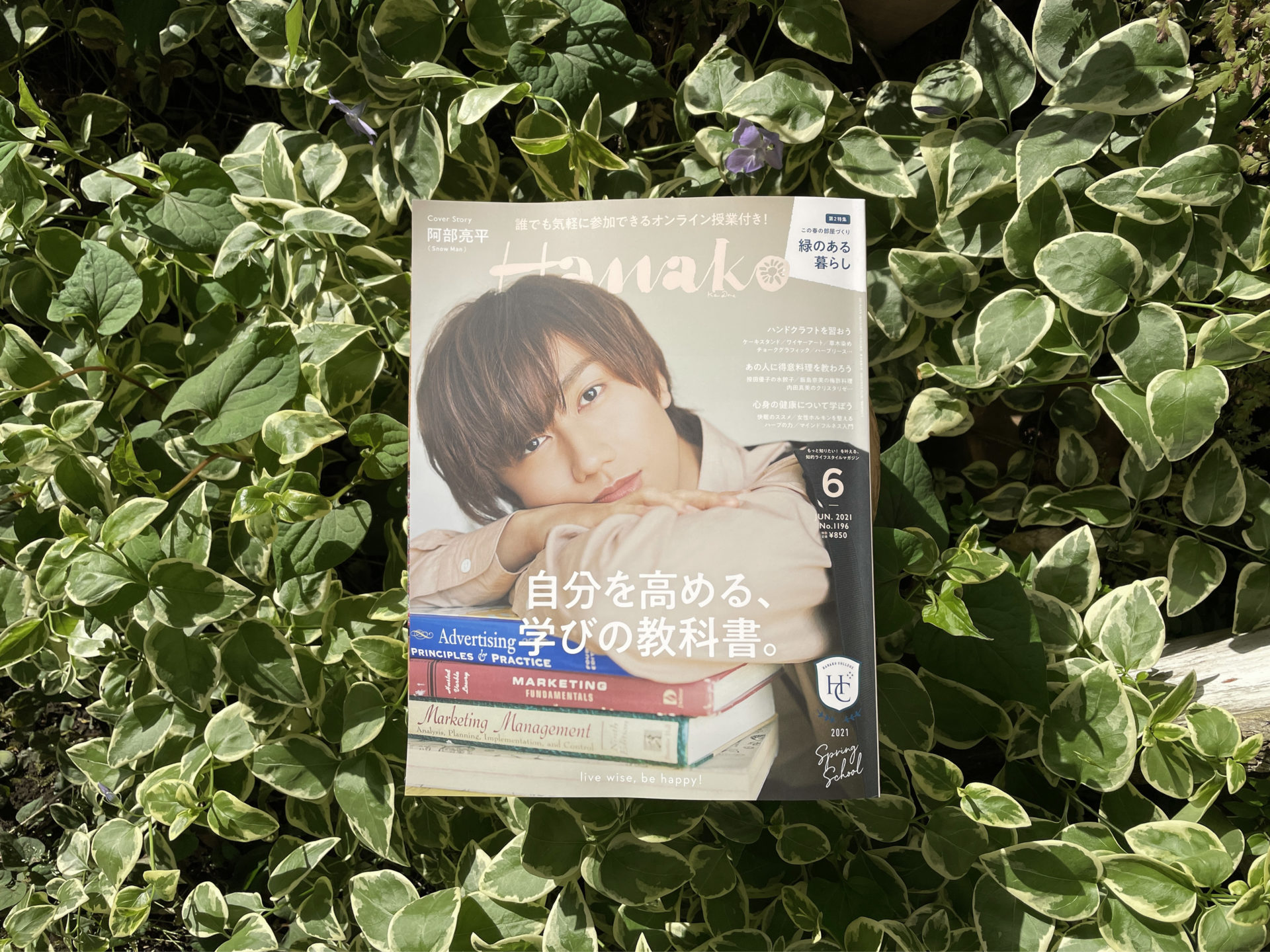 Hanako』(No.1196「学びの教科書」特集)
